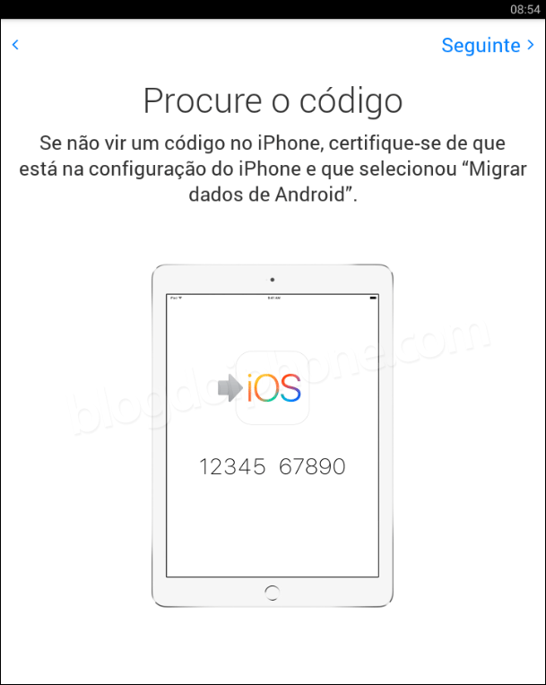 Migrar para o iOS