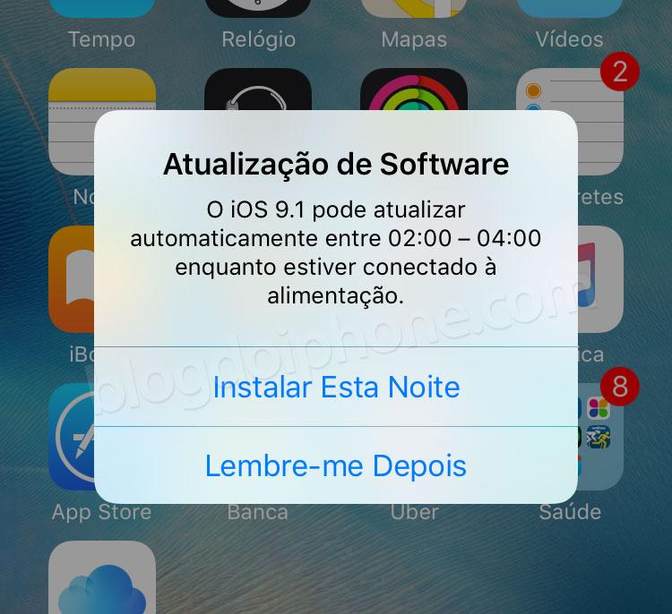 Photo of [bug] Atualização noturna do iOS 9 pode desligar o despertador da manhã