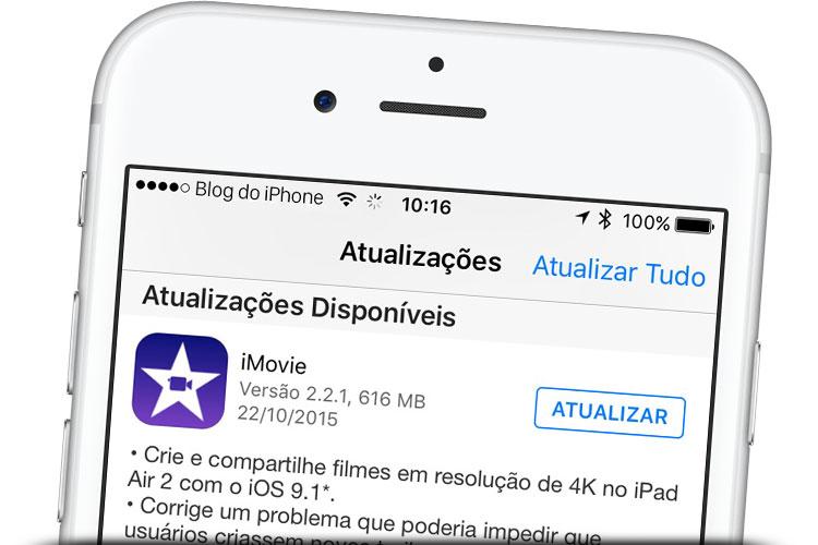 Photo of iMovie ganha atualização e agora permite edição de vídeo 4K no iPad Air 2