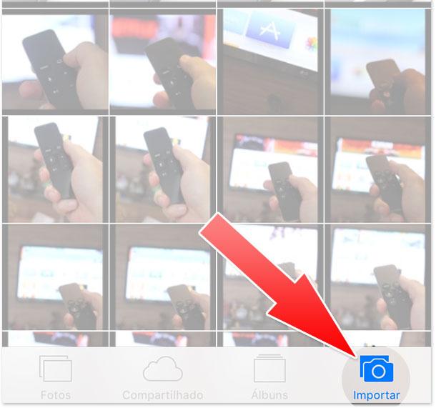 Importar fotos SD