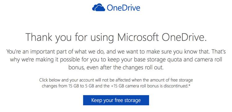 One Drive Bonus