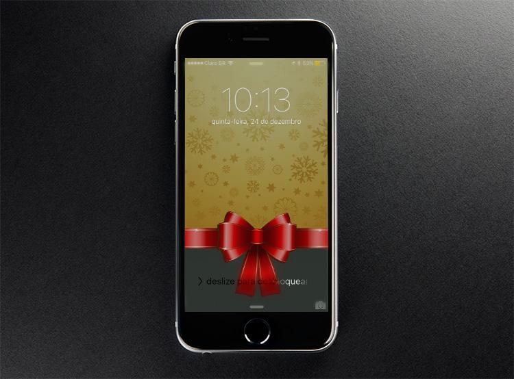 Baixe Os Wallpapers De Natal Para IPhone, IPod Touch E