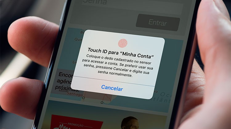 Santander Touch ID