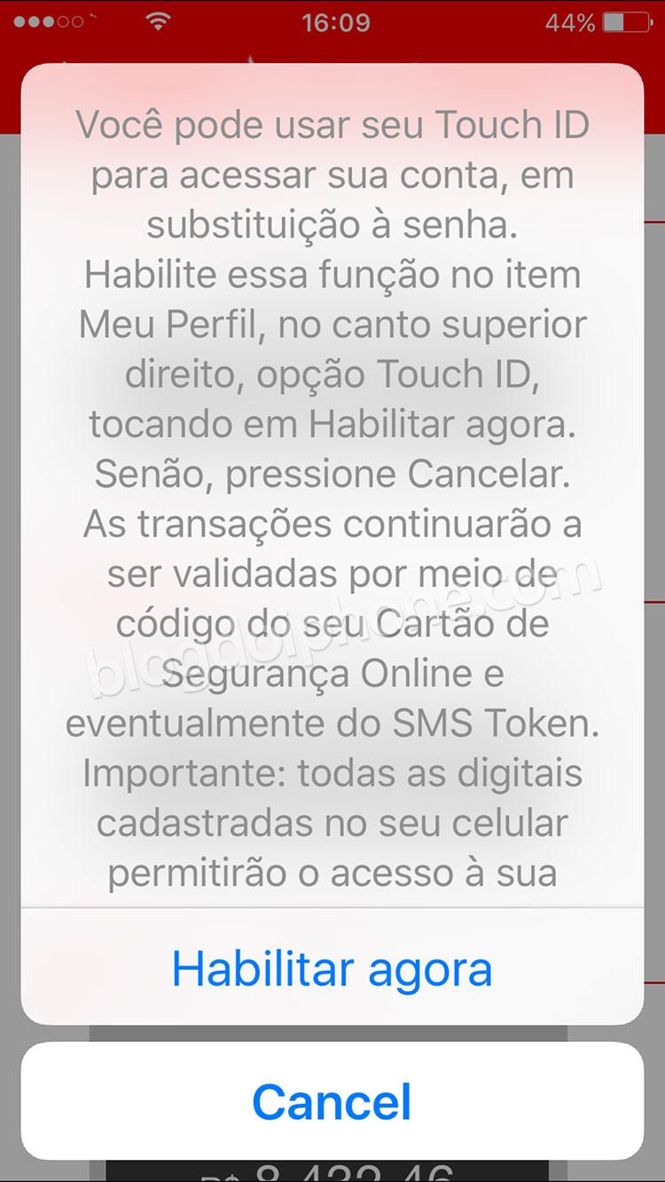 Santander TouchID