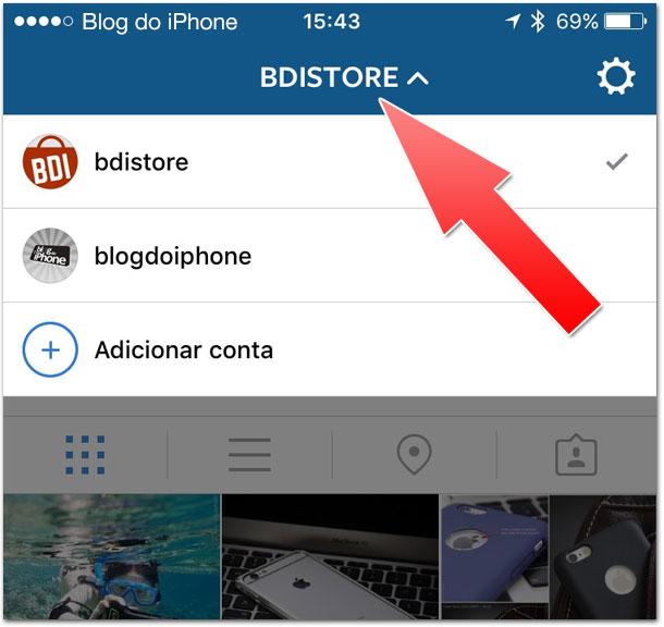 Multiusuários Instagram