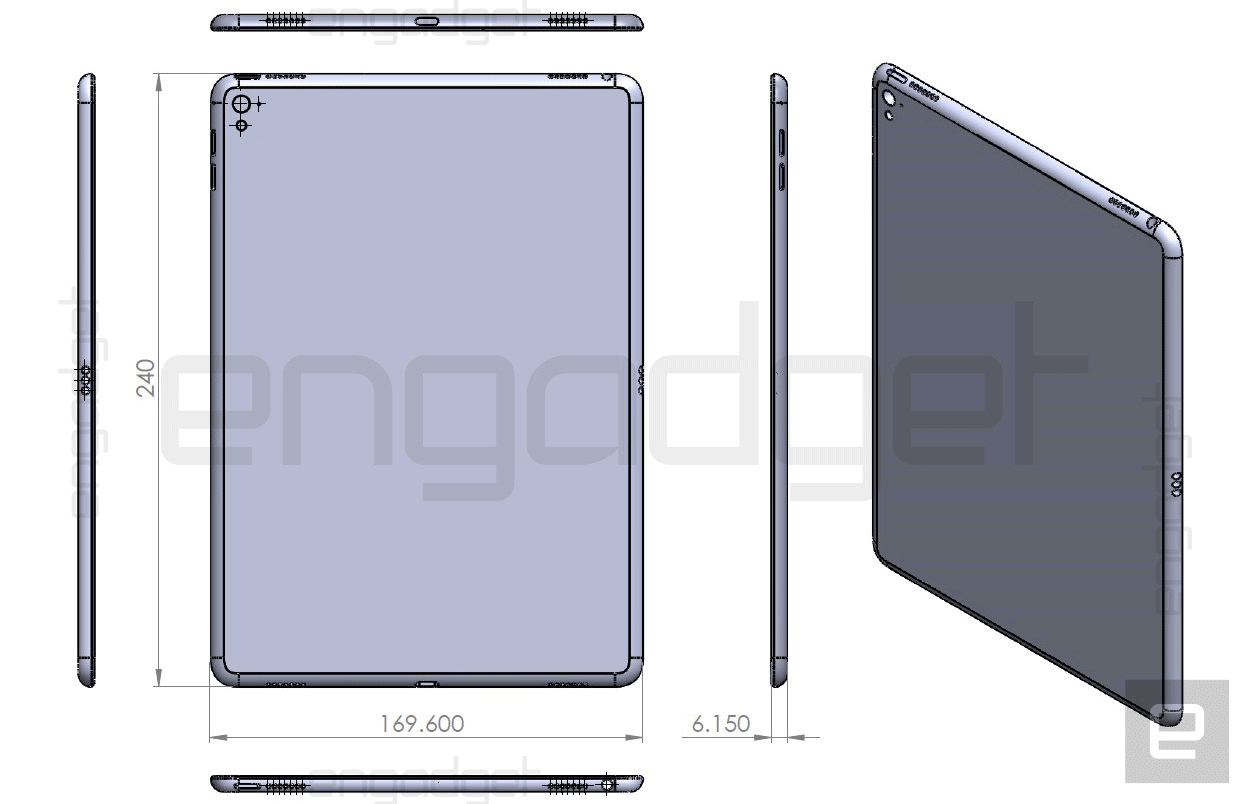 iPad Air 3 esquema