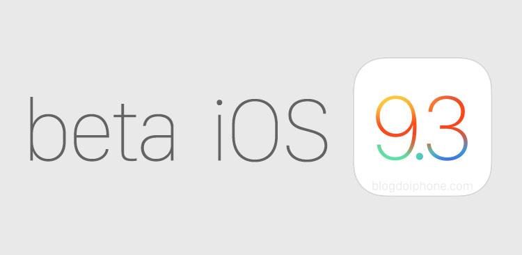 Apple libera para testes a 7ª versão beta do futuro iOS 9.3