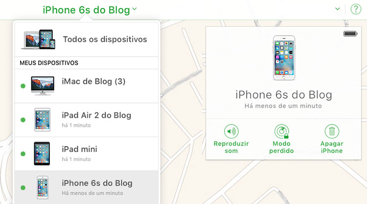Buscar iPhone
