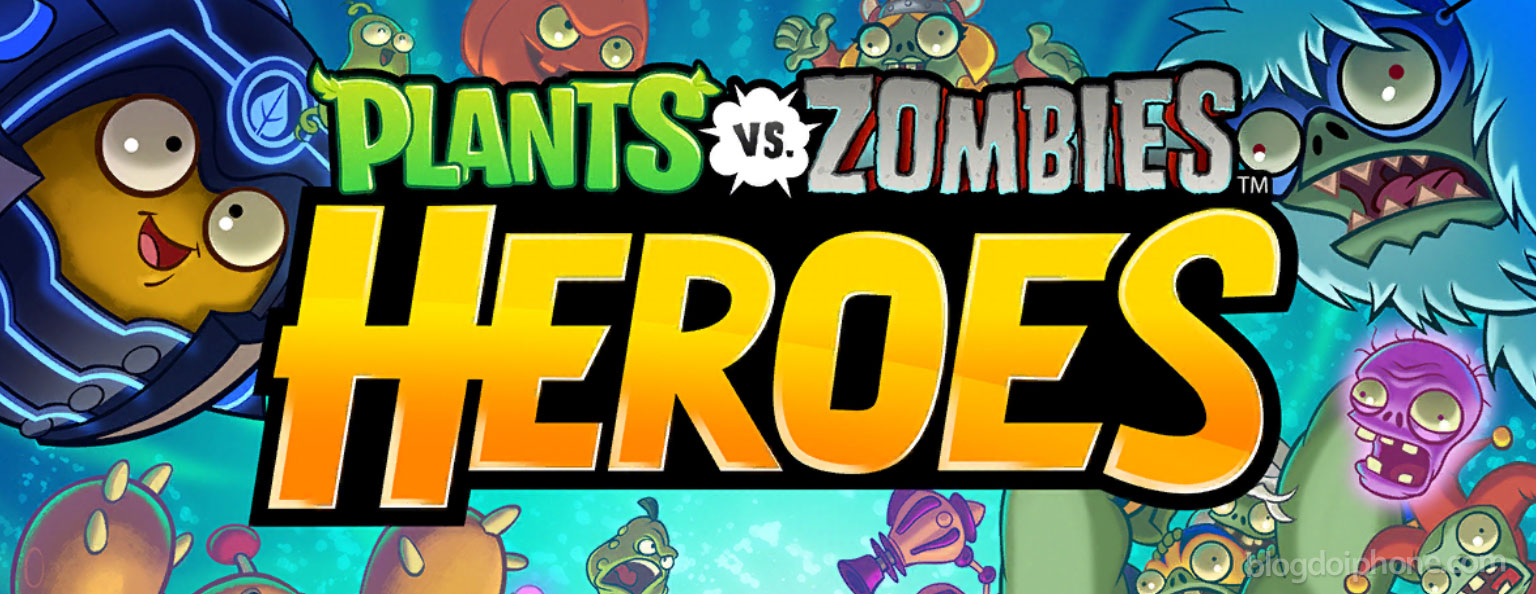 Photo of Chega ao Brasil Plants vs. Zombies Heroes para iOS