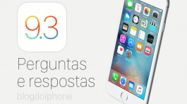 faq iOS 9.3