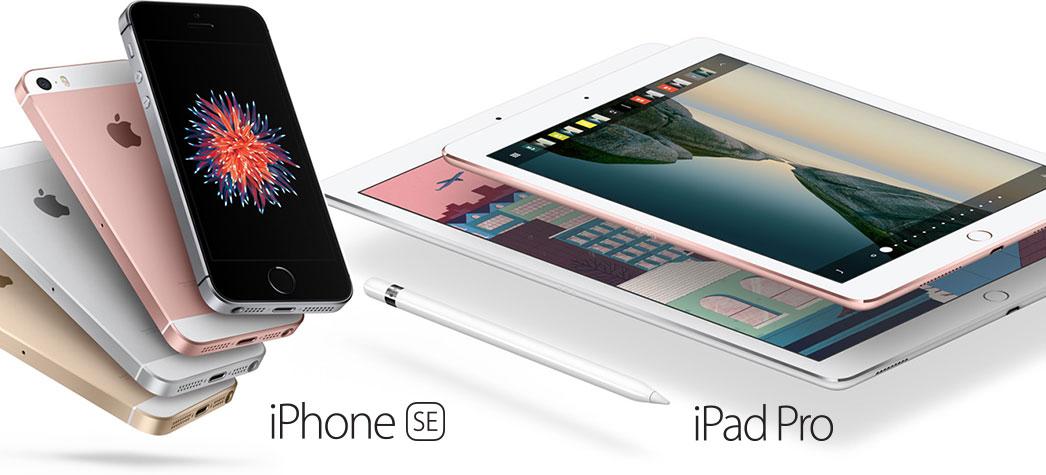 Começou hoje a pré-venda do iPhone SE e iPad Pro 9.7 em 13 territórios
