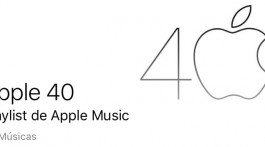 Apple 40 anos