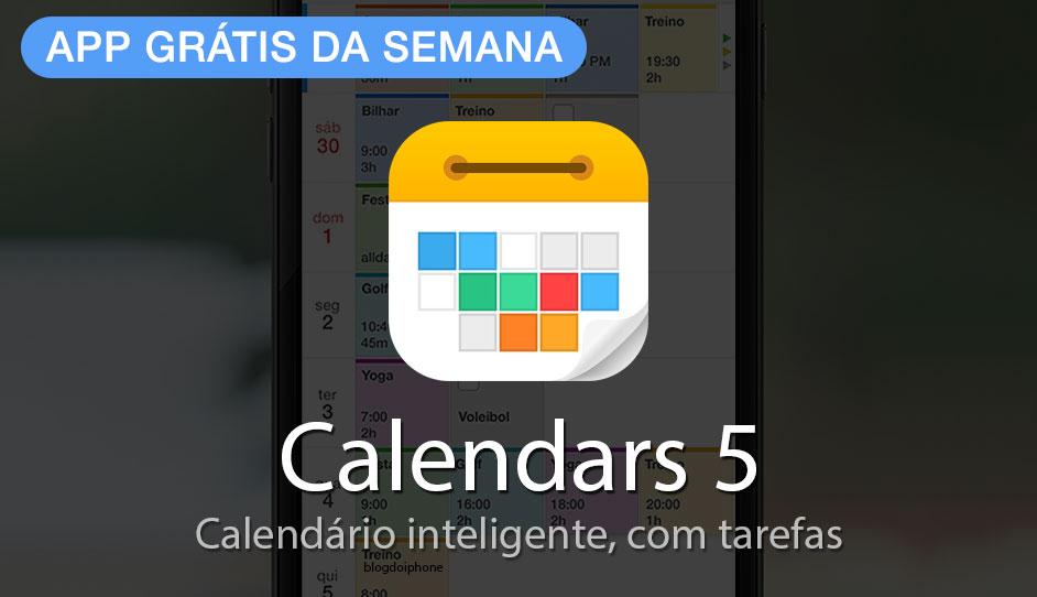 Photo of App Grátis da Semana: Calendars 5, da Readdle