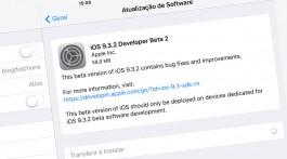 Beta iOS 9.3.2