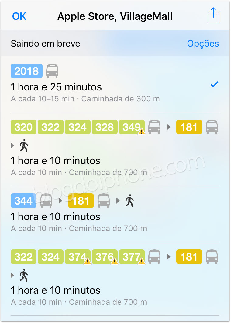 Apple Maps Rio