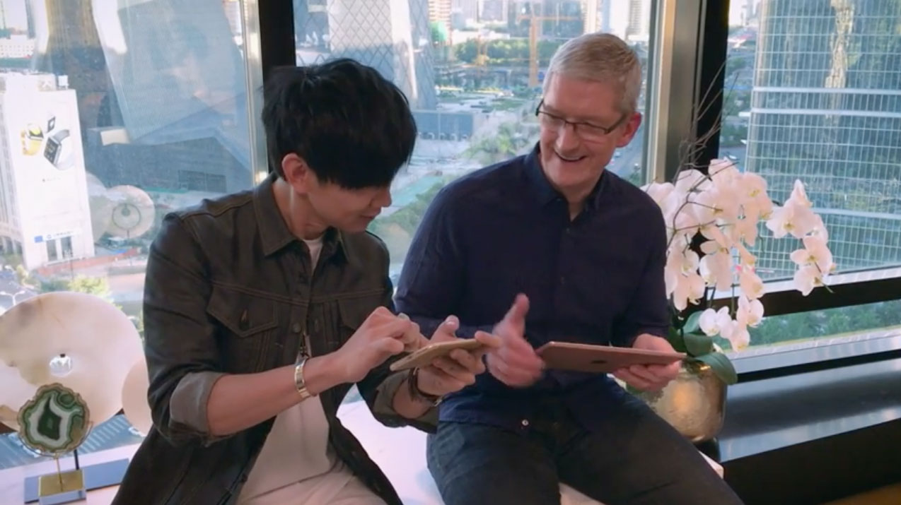 Photo of Tim Cook faz demonstração dos novos sons chineses do GarageBand