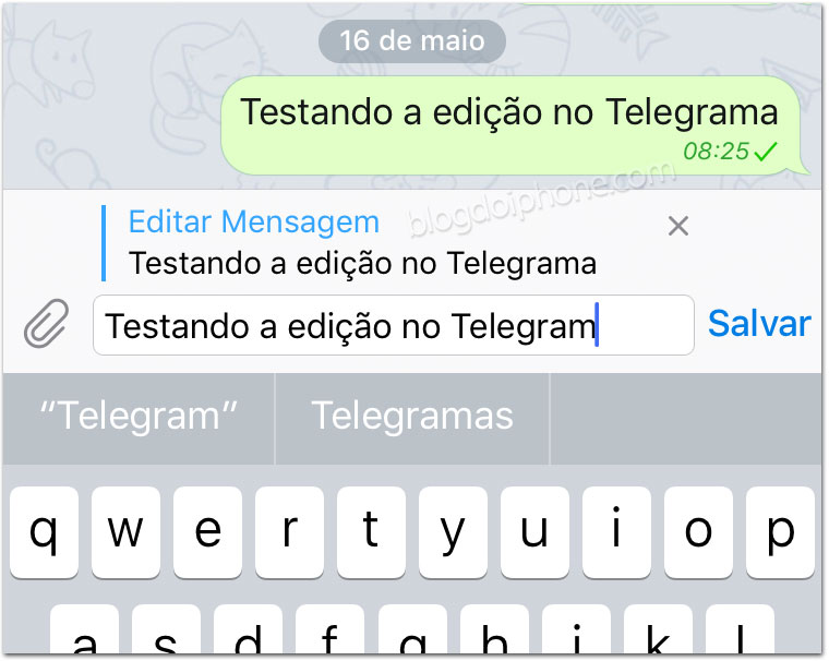 Telegram iOS