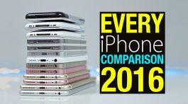 Comparativo iPhones