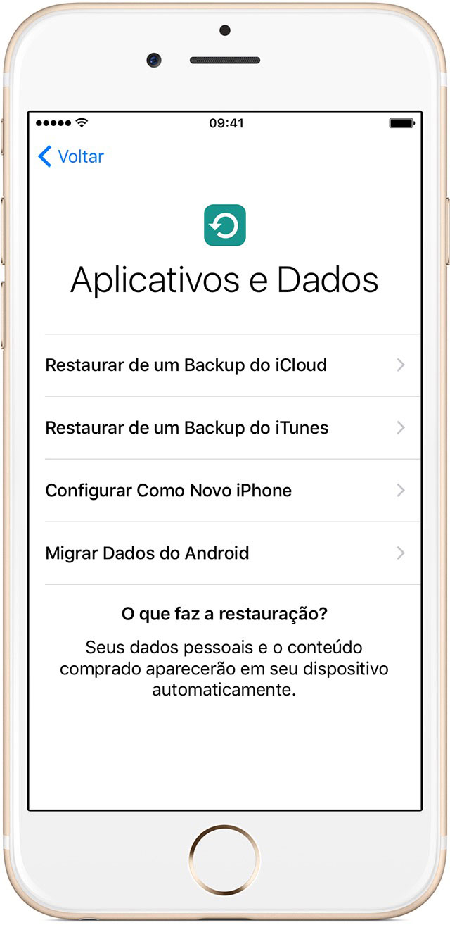 Novo iPhone iOS