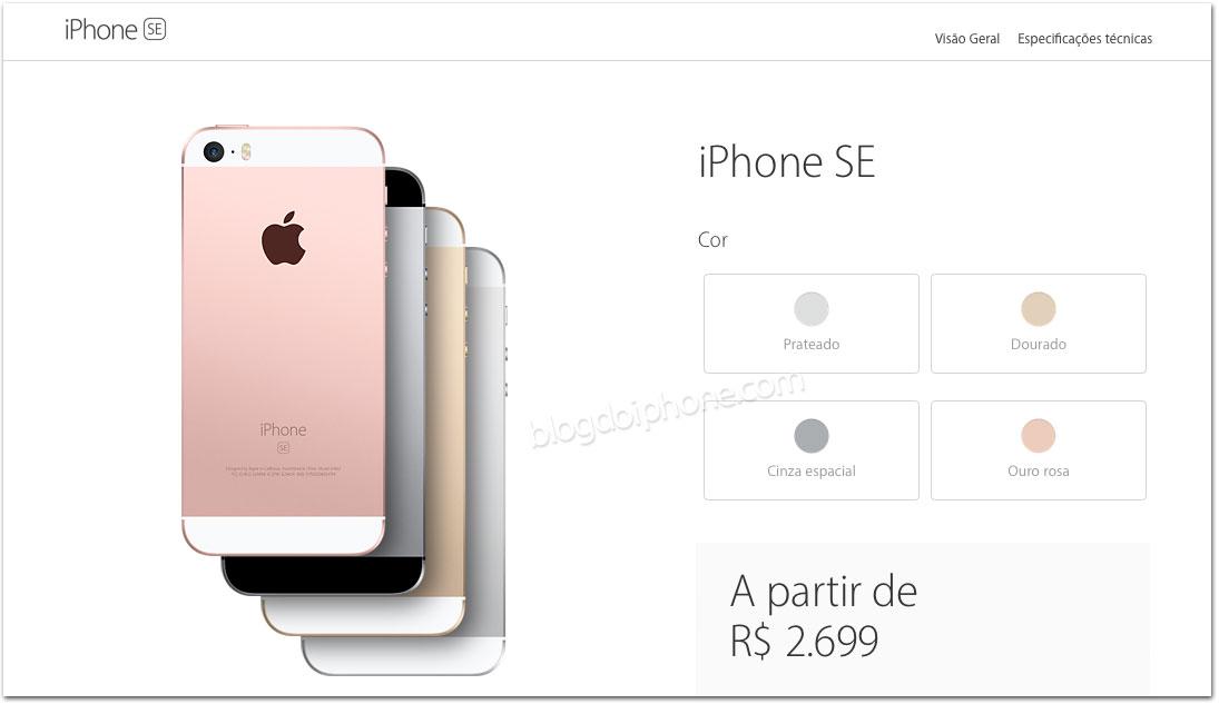 Iphone Se No Brasil Valor