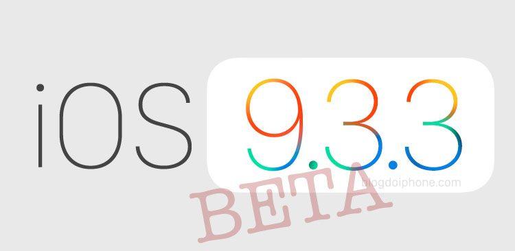 iOS 9.3.3 beta