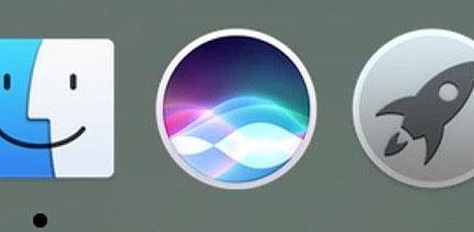 Siri icone Dock