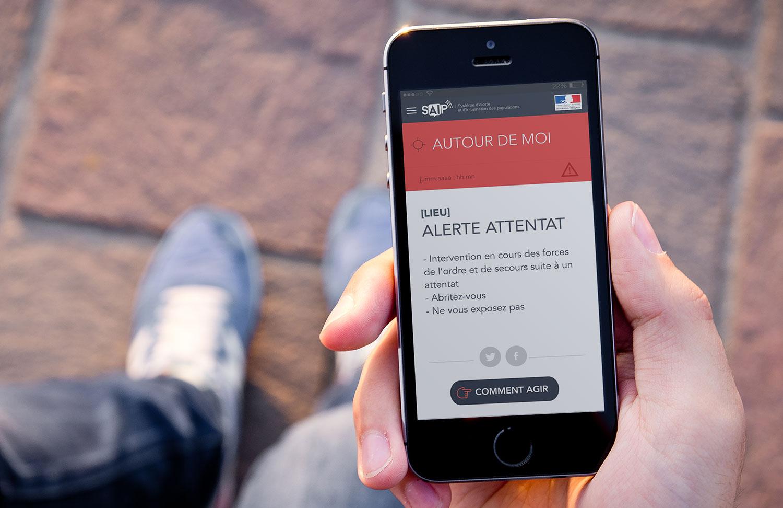 Photo of Autoridades francesas lançam aplicativo que alerta cidadãos sobre atentados e catástrofes