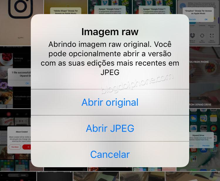 iOS 10 RAW