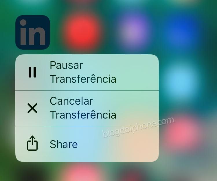 iOS 10 3D touch