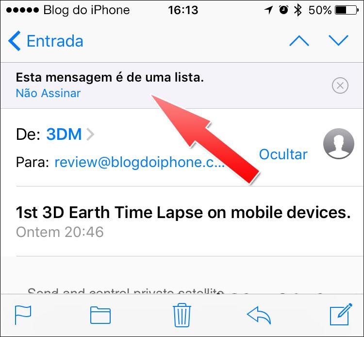 iOS 10 Mail
