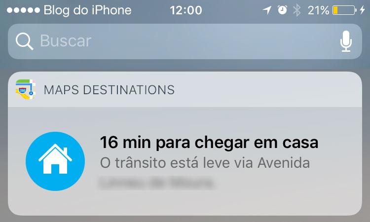iOS 10 mapas