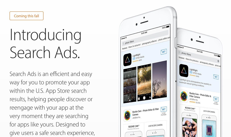 Photo of App Store passará a mostrar publicidade de aplicativos nas buscas