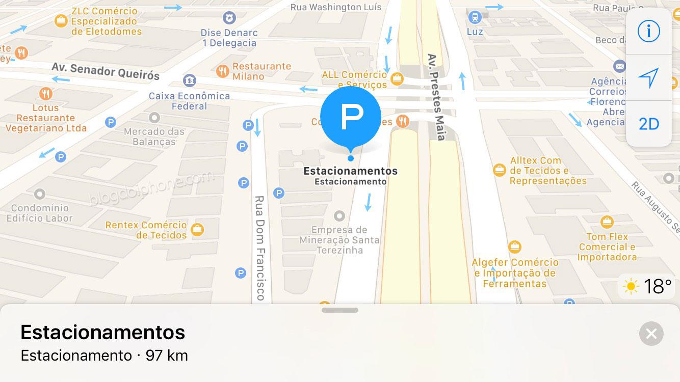 Photo of Aplicativo Mapas do iOS ganhará integração com serviço de estacionamento