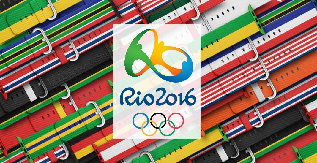 Rio 2016 pulseiras