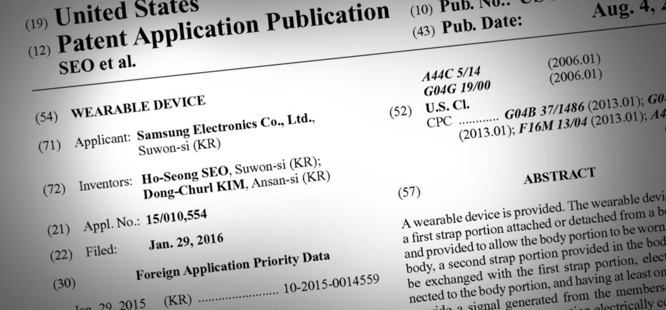 Photo of Ops! Samsung registra patente usando imagens do… Apple Watch!