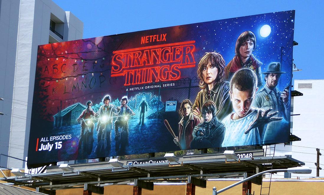 Photo of Poster oficial da série Stranger Things foi todo desenhado no iPad Pro
