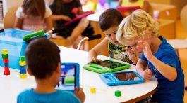 Crianças iPad