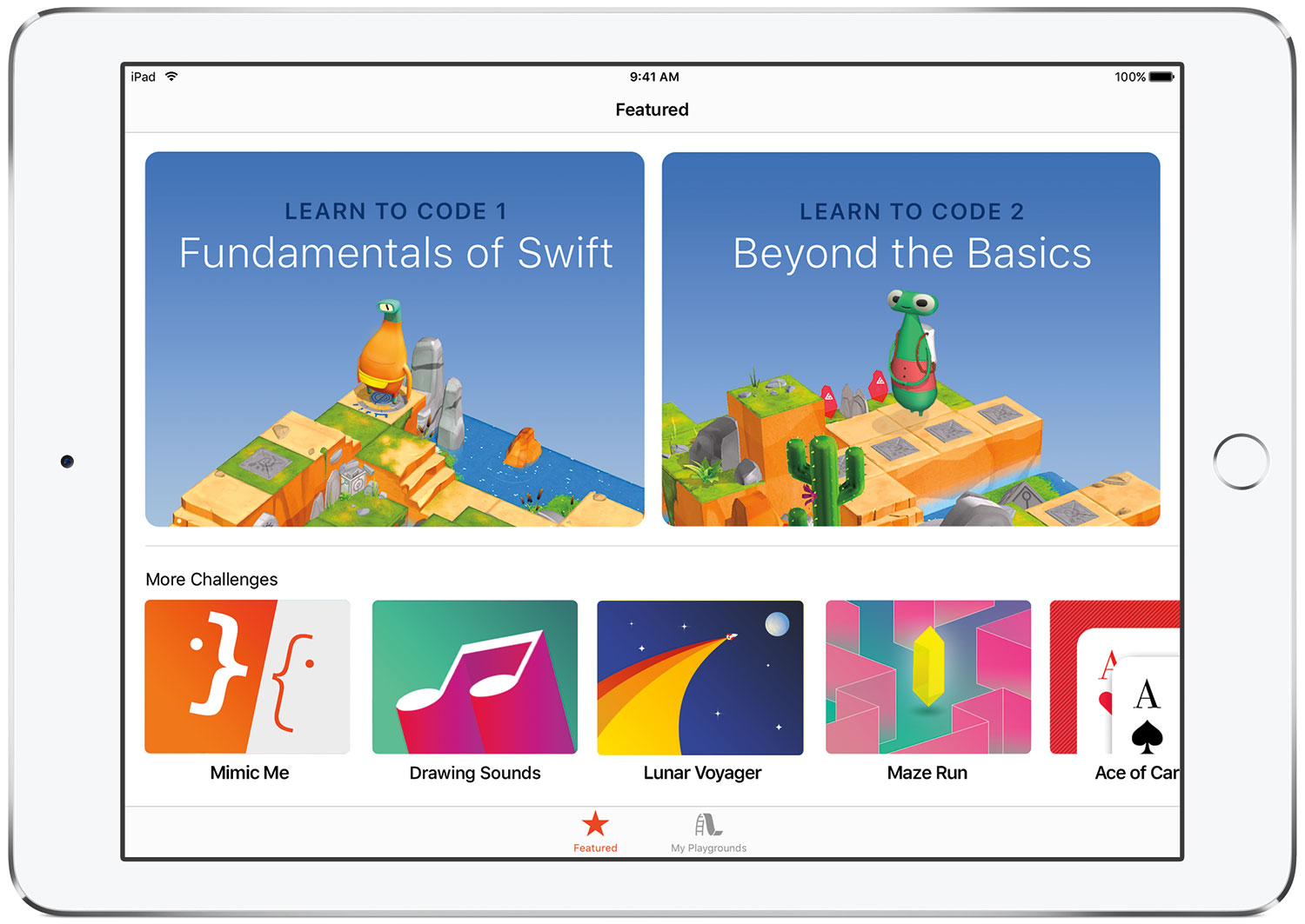 Photo of Apple disponibiliza na App Store o app Swift Playgrounds