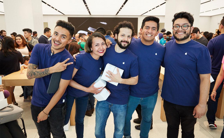 Hola México Apple Store