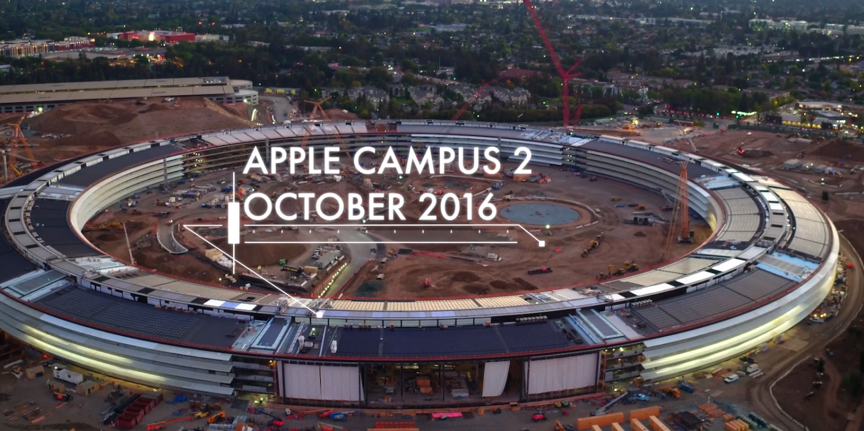Photo of Veja como está ficando a construção do novo campus da Apple