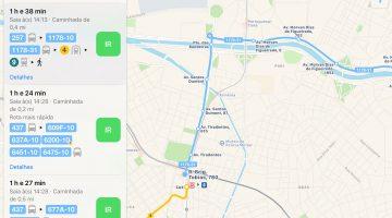Apple Mapas SP