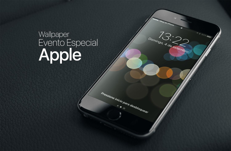 Photo of Baixe no seu iPhone ou iPad o wallpaper do Evento Especial da Apple