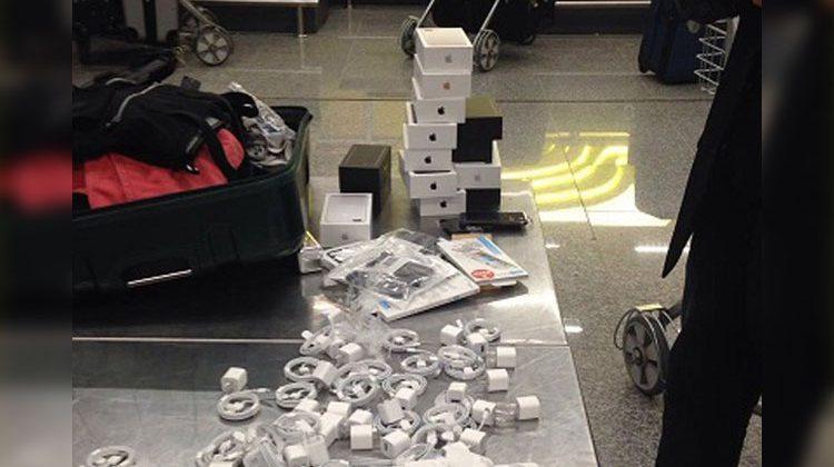 iPhones 7 contrabandeados