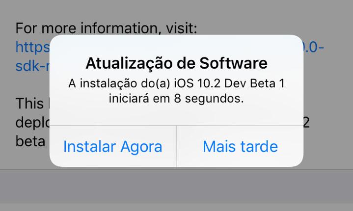 Photo of Próximo iOS 10.2 trará novos Emoji, wallpapers e outras novidades