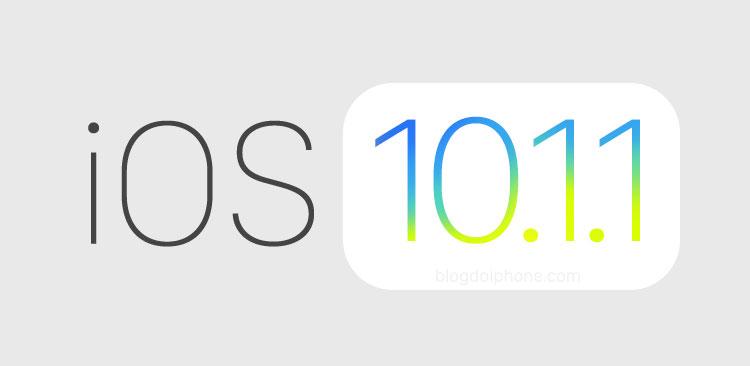 Photo of Apple liberou hoje uma versão alterada do iOS 10.1.1