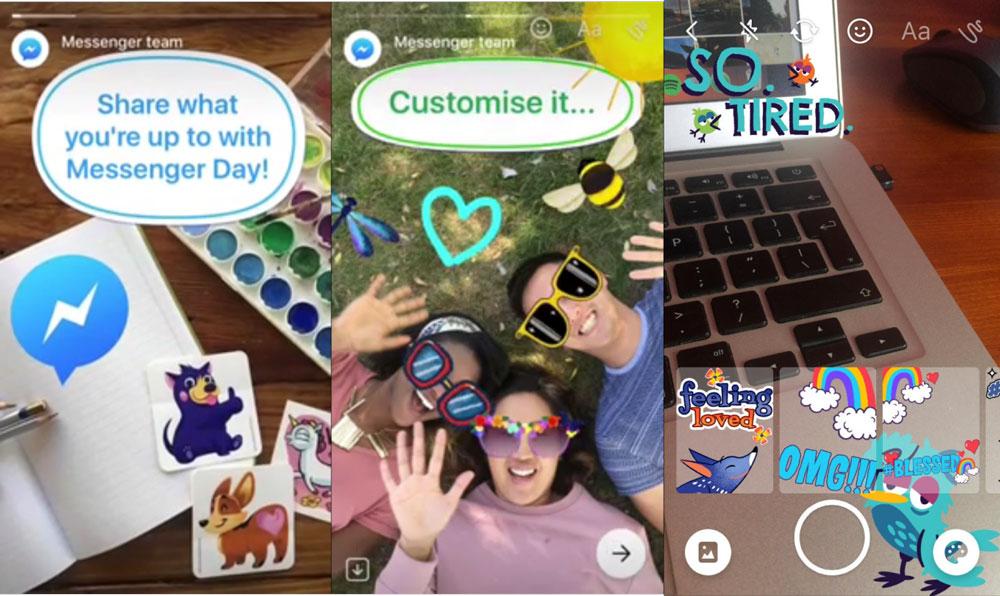 Photo of Facebook Messenger TAMBÉM quer clonar ideia do Snapchat
