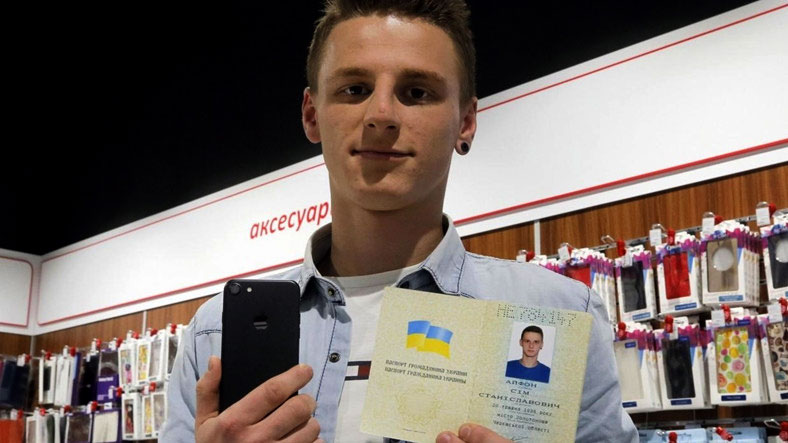Ucrania iPhone 7