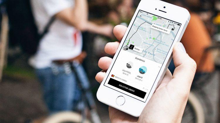 Novo app Uber