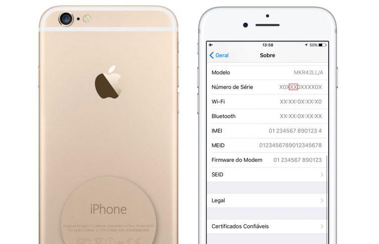 Veja se seu iPhone 6s é apto a participar do Programa de Troca de Bateria da Apple Iphone-serial-number-768x495