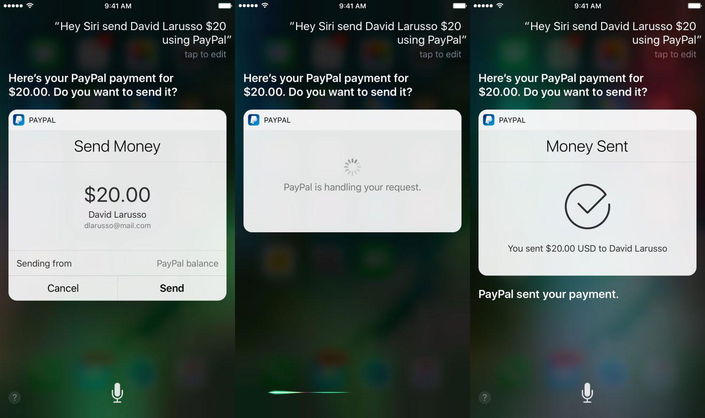 Photo of Atualização do app do PayPal agora permite pagamentos pela Siri